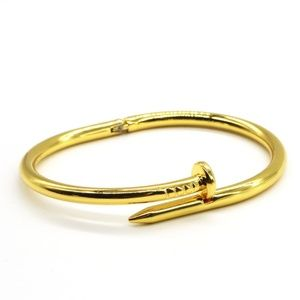 Jewelry - G_NAIL BENDING LOVE CUFF GOLD